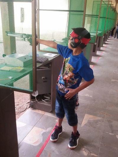 Boy Shoot Gun
