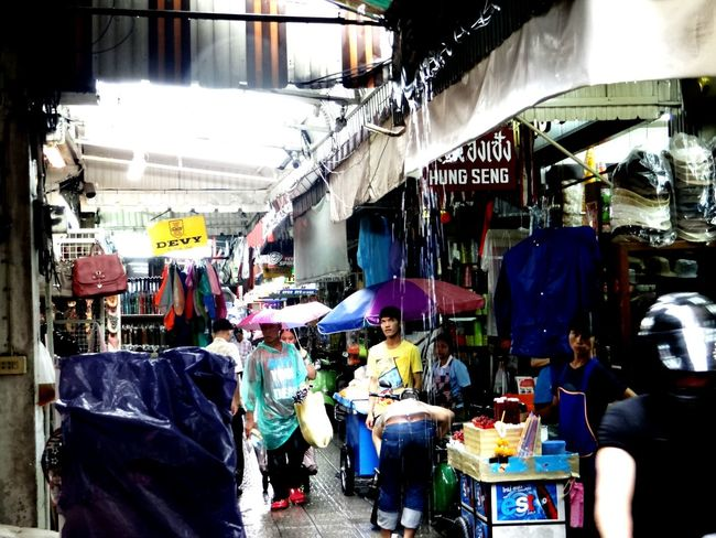 Bangkok after monsun Bangkok Scenics Monsun Rain Market