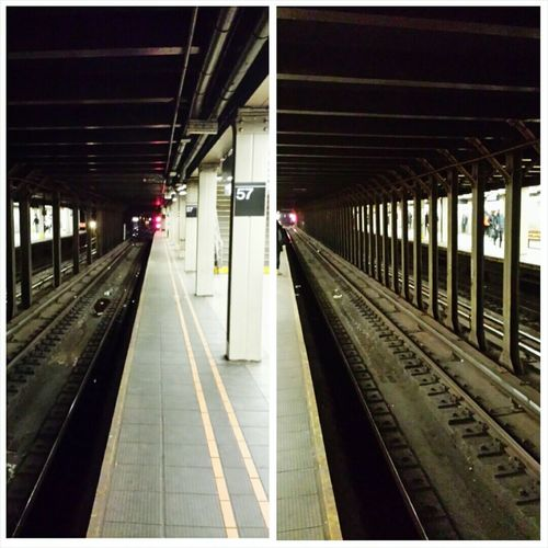 Notes From The Underground NYC Photography Subway Station 57th & 7th Coming And Going