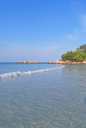 Is My Shadow in Waves Beach Beautiful Nature Beauty In Nature Bintan  Bintanisland Blue Blue Sky Day Daylight Landscape Nature Outdoor Photography Scenics Sea Seascape Shadow Tranquil Scene Tranquility Travel Destinations Traveling Trikorabeach Vacations Water Waves Waves, Ocean, Nature