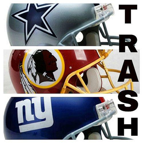Completely! Cowboys Redskins Giants NFCEast NFLFootball