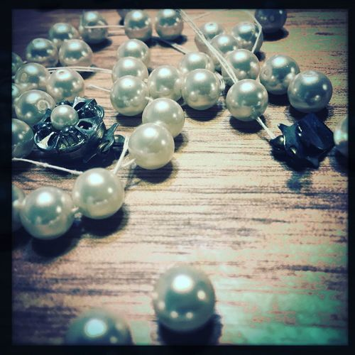 Perl Necklace The Thread Which Snapped パール ネックレス 清算 切れた糸 過去にとらわれずに…