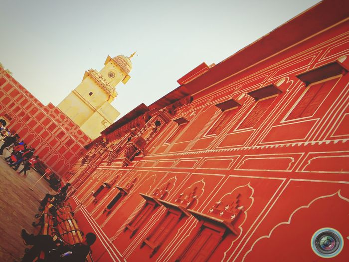 Architecture Jaipur Heritage Building Heritage Heritagebuilding Historical Building Historic Historical Place History Beauty The Great Outdoors With AdobeRed Beautiful Colors ASIA Taking Photos Check This Out Hello World Streetphotography Street Photography EyeEm Best ShotsTextures And Surfaces India History Through The Lens  Your Design Story