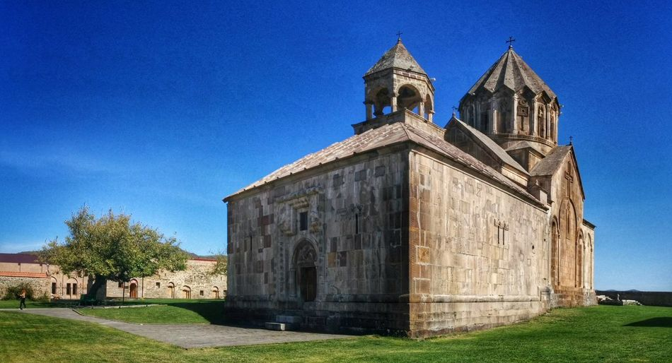 Gandzasar monastery in Nagorno-Karabakh Gandzasar Nagorno Karabakh Azerbaijan Armenia Armenian Monastery Architecture Travel Sightseeing Landmark Building Medieval Caucasus Kaukasus Church