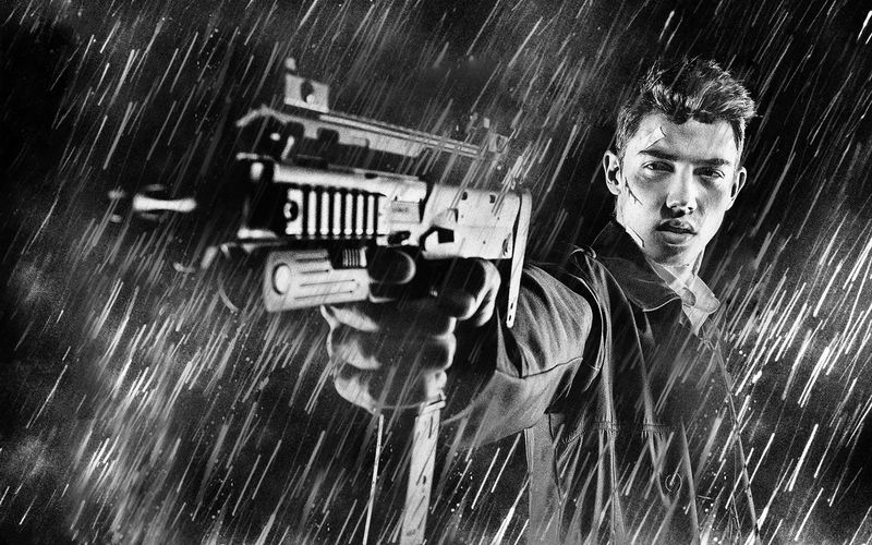 Criminal Shooting Gun While Standing In Rain