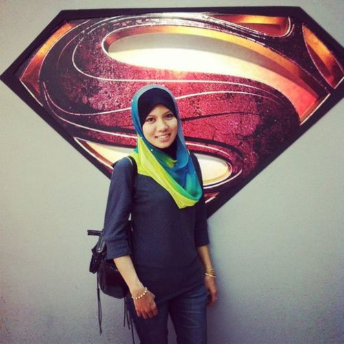 @baimnita83 Nitayaacob KakYunk Superman Superhero midvalley megamall