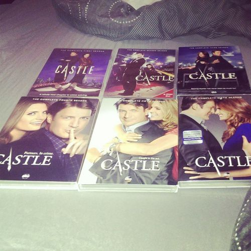 :-) Got all 6 seasons ?? CastleFan Castle NathanFillion StanaKatic KateBeckett RichardCastle ABCSeries Seasons1To6