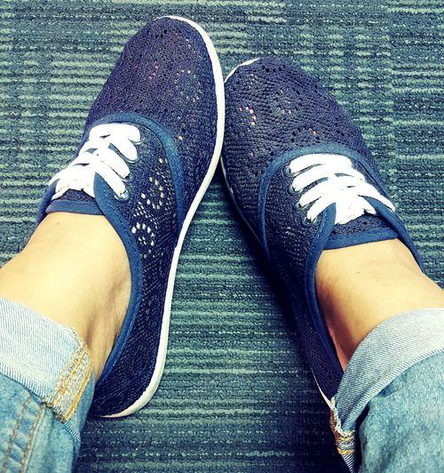 Kotd Kicks Shoeselfie Shoes Blue Tgif Sneakers