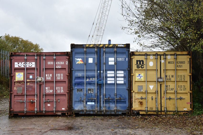 Shipping containers. Beautifully Organized Sky Outdoors Day Metal Text Box - Container No People Architecture Storage Shipping Containers EyeEm Storage Shipping Container EyeEm Best Shots Organized Getty X EyeEm Simple Photography EyeEm Masterclass EyeEm Gallery Container Information Eye4photography  Different Perspective Creativity