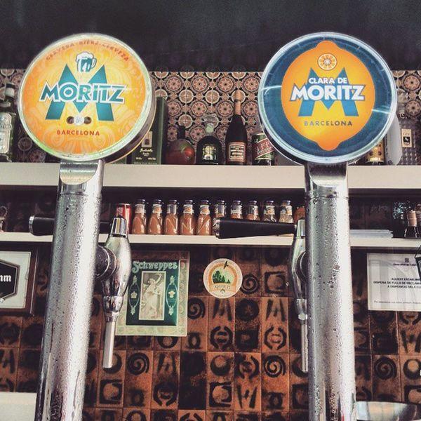 Refreshing. Beer Moritz Clara Barcelona