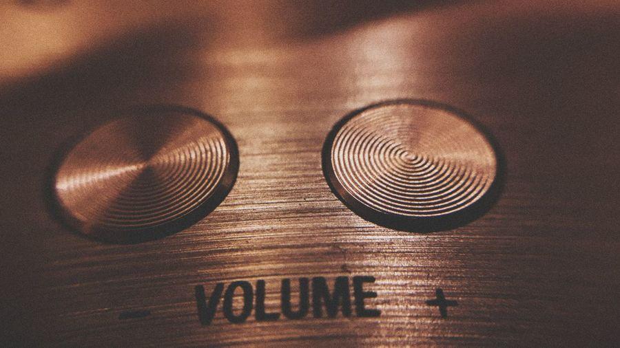 Volume... No