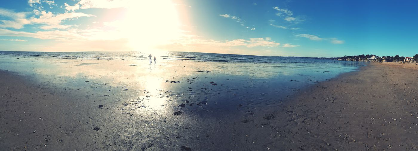 Vacances ! Soleil Vacances Sea Beach Sunset Sunlight Sand Summer
