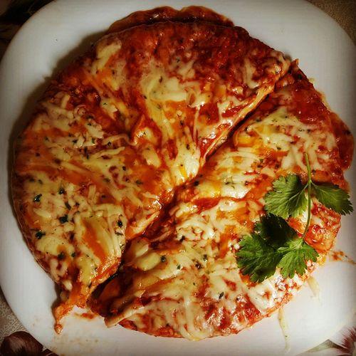 Pizza 4formaggi Homemade Yummy♡ Prezzemolo Eyeem Food