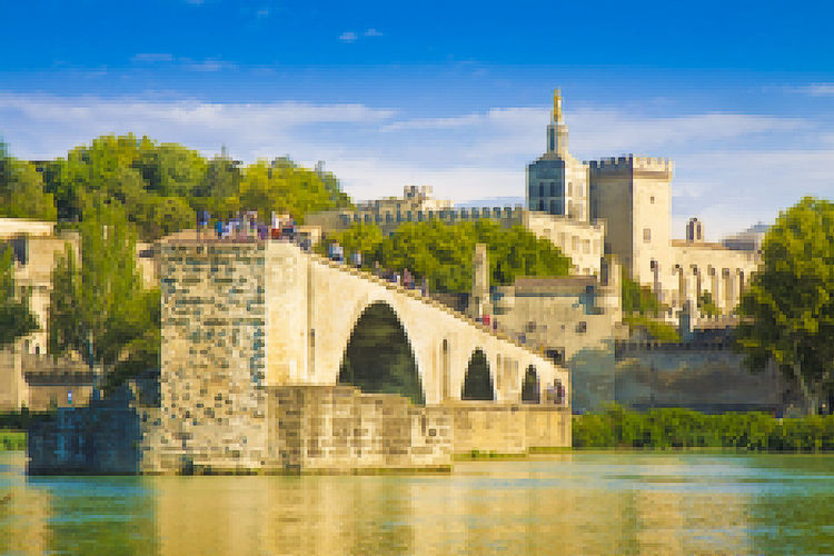 Avignon Avignon City Avignon, France Avignone Arch Bridge Architecture Avignon Bridge Bridge Bridge - Man Made Structure Building Exterior Built Structure City Cityscape History No People Office Building Exterior Outdoors The Past Tower Travel Travel Destinations Tree Water