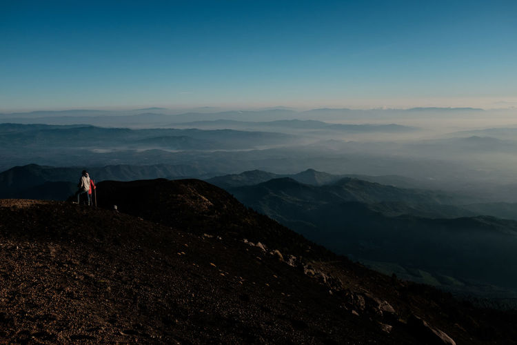Acatenango Adventure Beautiful Central America Fujifilm Fujifilm_xseries Geology Guatemala Hiking Horizon Mountain Nature Nature_collection Outdoors Peak Person Perspective Reflecting Serenity Steep Sunrise Traveling Trekking View Volcano Long Goodbye The Great Outdoors Lost In The Landscape