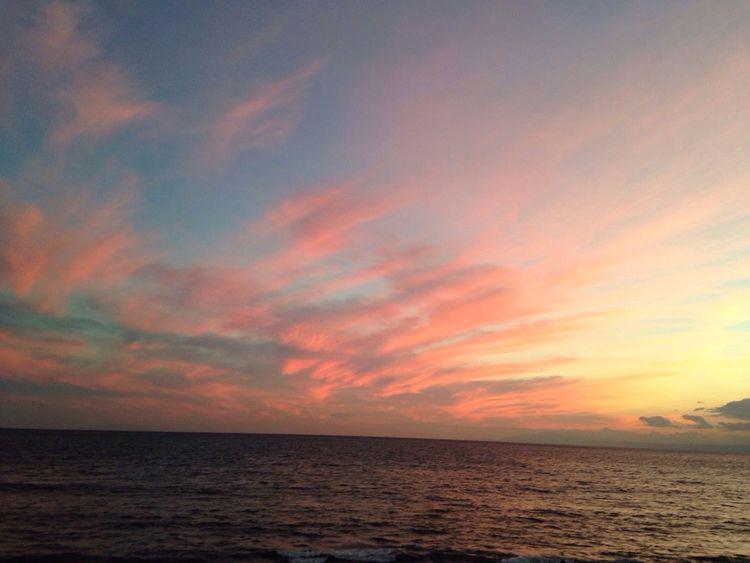 Beach land Sunset #sun #clouds #skylovers #sky #nature #beautifulinnature #naturalbeauty #photography #landscape Sunset Skyporn