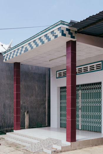 Architecture Architecture_collection Building Exterior Built Structure Clear Sky Day Exterior No People Vietnam The Architect - 2017 EyeEm Awards