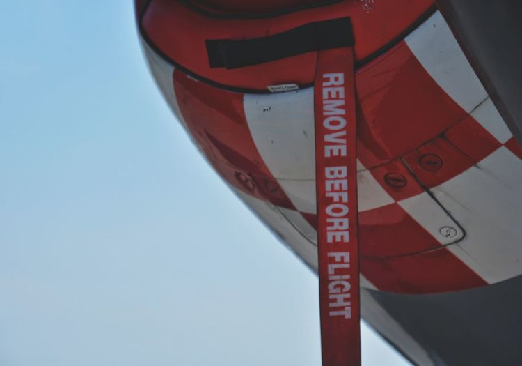 Remove before flight Long Island New York P51 Ww2 P51 Mustang Tag Close-up USA Red Communication Sky Close-up Airplane Air Vehicle Aircraft Military Airplane Fighter Plane Aeroplane