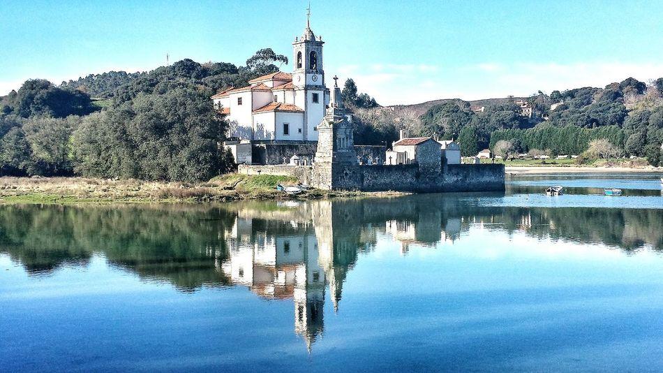 Nuestra Señora de los Dolores en Llanes Asturias Water Reflections Sky Water_collection