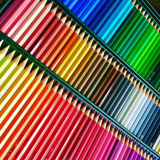 Multi Colored Backgrounds Pattern No People EyeEm Selects Full Frame Fabercastell Albrecht Duerer Watercolor