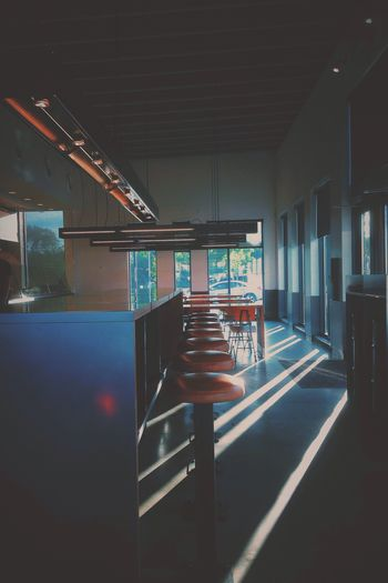 Empty Restaurant IPhoneography Vscocam