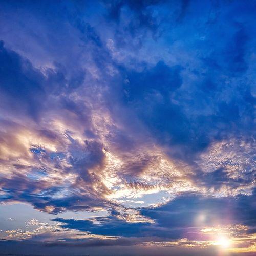 Sunset clouds Croatia_lovers Croatia Croatiafulloflife Croatiapostcards Unlimitedcroatia Huaweihrvatska HuaweiOOO Visitslavonia Vallisaurea Walking Walkingonsunset Clouds Bluesky Beautifulsky Blueclouds Sun Leica Nopeople Nofilter Followme Naturephotography Astronomy Galaxy Milky Way Star - Space Blue Sea Water Sky Cloud - Sky Sky Only