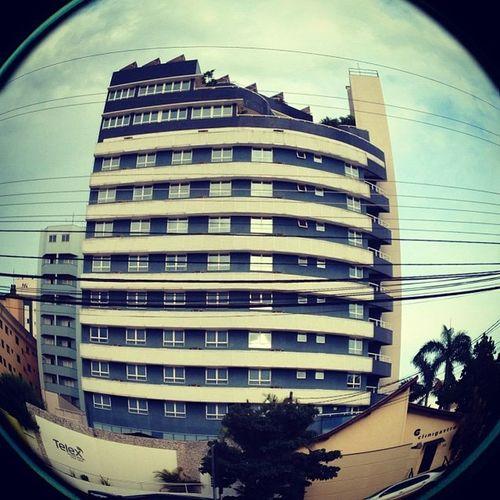 Fisheye Lens Photography Vintage Compositon Sky Blue