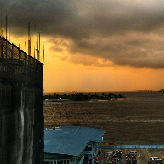 Sunset Malecity InstagramMV Maldives