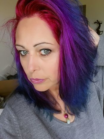 Raimbow Color Hairstyle Hair Rainbowhair Rainbowhaircolors Juste Moi ❤ Kisses❌⭕❌⭕