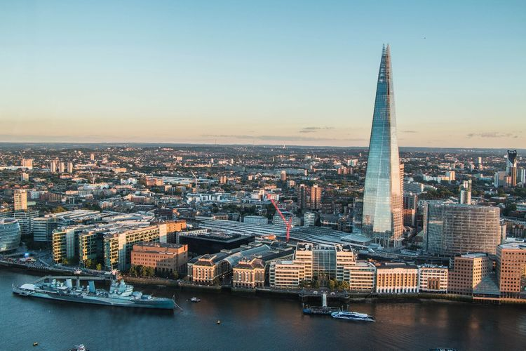 London seen from Skygarden City Cityscape Architecture Built Structure Clear Sky Water Skyscraper Building Exterior Travel Destinations Tower Crowded Modern Capital Cities  Waterfront Office Building Financial District  Tourism Engineering Tall - High Outdoors England