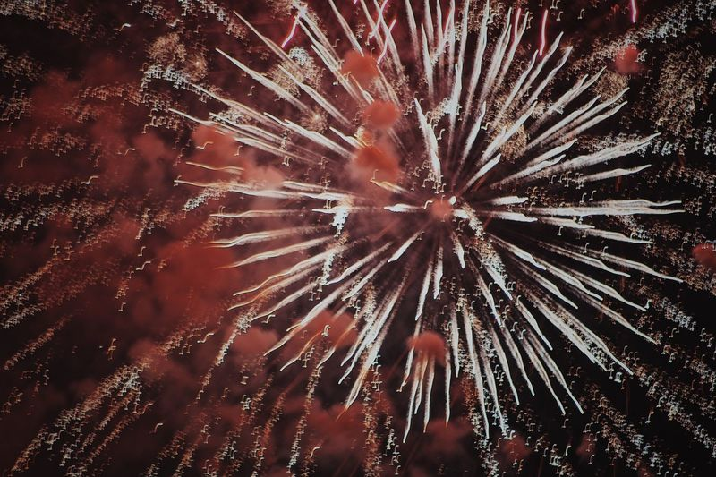 2018 American Festival Celebration Event Backgrounds Low Angle View Exploding Full Frame Firework No People Firework Display Night Arts Culture And Entertainment Motion Illuminated Sky Nature Outdoors Close-up Beauty In Nature Firework - Man Made Object Festival