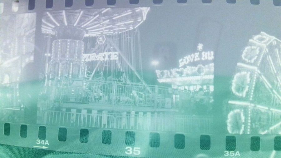 Funny, when you invert a negative to only see what the true print will look like. ♥ #film #negativestrip #filmnegative #photography #3200iso #texasstatefair #love Love Photography Pentax K-1000 35mm Film Negative Film Strip