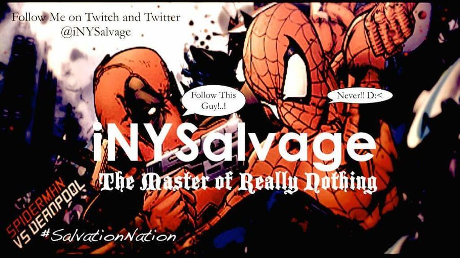 Created this 5 Years Ago and Still 1 of My Favorite Edited banners! Deadpool Spiderman Deadpool V Spiderman Comic Nerd Marvel INYSalvage