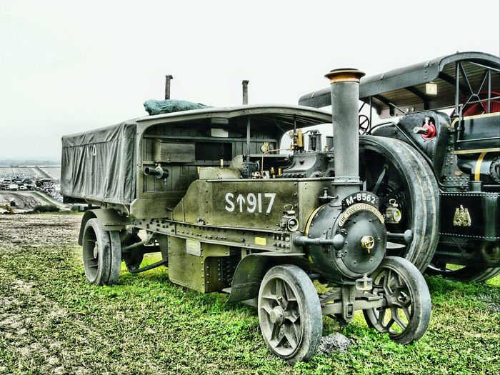 Mode Of Transport Transportation Land Vehicle Side View Stationary Day Outdoors Green Color Freight Transportation Great Dorset Steam Fair Transportation Standing Ww 1 Steam Lorries Heavy Haulage Great Day Out Coal Powered Water Seriously Heavy Engineering Journey