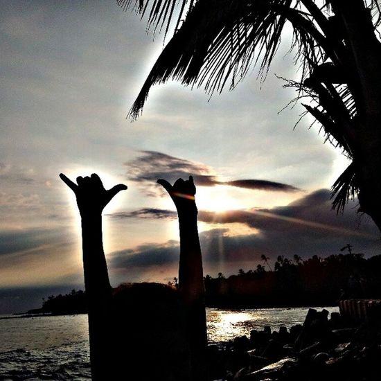 Shakasup OneLove Shakaloha Sunset Puna Myhome Latepost Skyporn Clouds Bigislandlove HiLife 808love