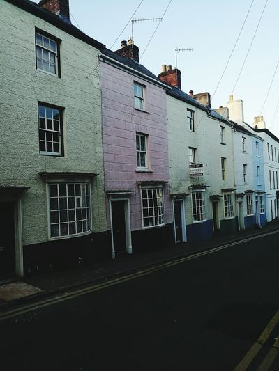 Wye Valley Chepstow Wales Street In Wales Street In Chepstow Victorian Street Painted Houses Terraced Houses Terraces Quaint House Quaint Street Quaint Terrace