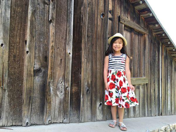 Portrait Girl Smiling Happiness Childhood Barnwood Cupertino California United States Natural Light Portrait Showcase June