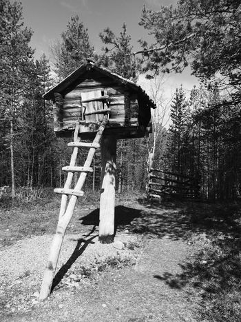 Inari, Finland Siida Built Structure No People Architecture Wood - Material Nature Building Exterior Outdoors Black & White Blackandwhite Black And White Blackandwhite Photography Tranquility Fridge Old Way Of Life Museum Lapland, Finland EyeEmNewHere