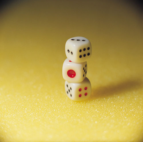 Dice still life concept creative design objects Attention Gambling Thinking Win Or Lose Awakening Betting Chance Close-up Concentrate Concept Consciousness Creative Dice Focus Gambling Idea Indoors  Luck No People Size