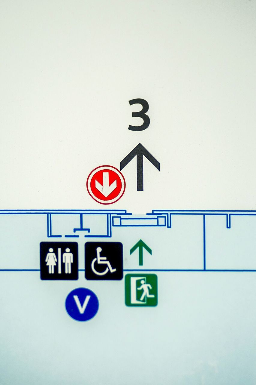 communication, guidance, human representation, no people, road sign, direction, day, indoors, close-up