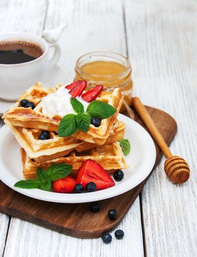 Waffles Honey