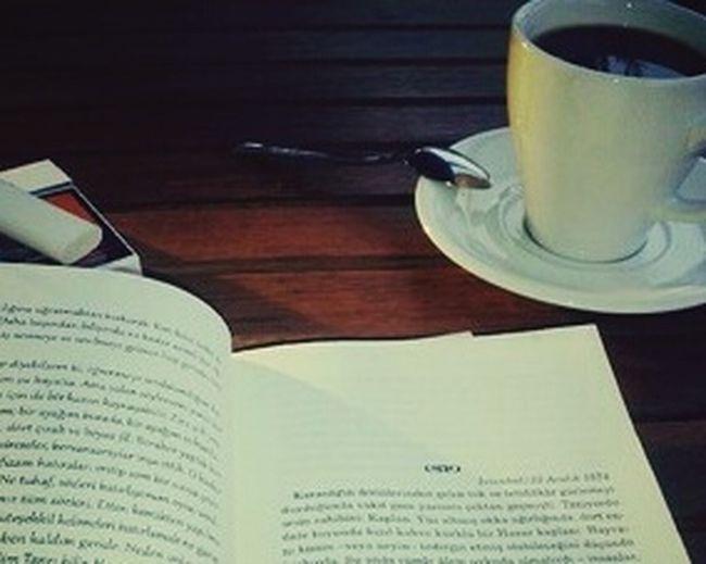 Kitabım Kahvem Miss :)