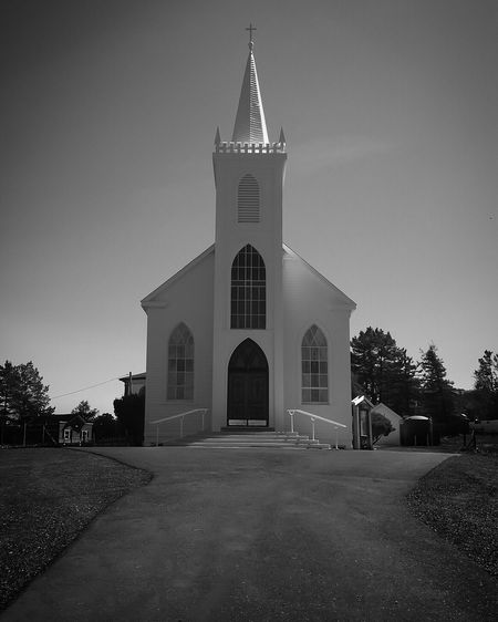 View of church against the sky