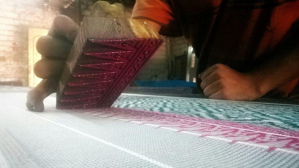 Make It Yourself Hand Printing Cloths Printing Hand On