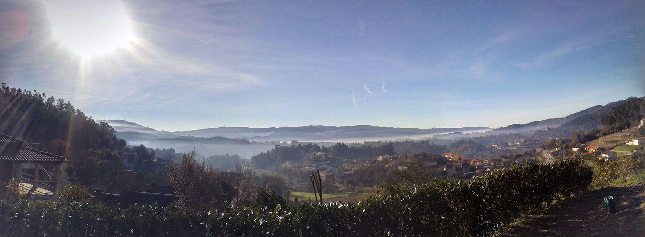Panoramic View Relaxing Nature