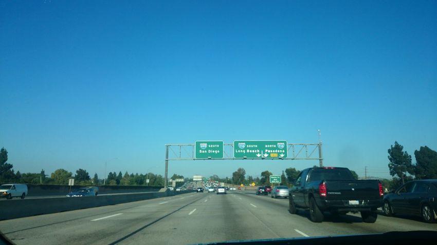 California Losangeles 405 Freeway 405south To Irvein Irvine Driveway Enjoy Life