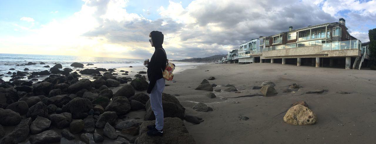 Malibu Beach Beach Coffee Backpack Lifestyles Sea