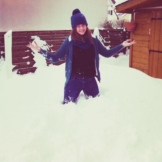 Me GirlWinter Snow