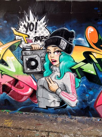 ...and here is one i did last year, with ma crewmates Dejoe and Phet1 Super Bad Boys Stereoheat Street Art Graffiti