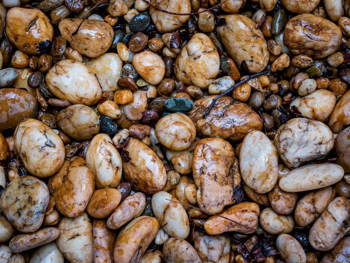 Full frame shot of bread for sale at market stall